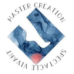logo Master Création Spectacle Vivant - © Clara Vidal  - Fannie Place - Louise Canadas